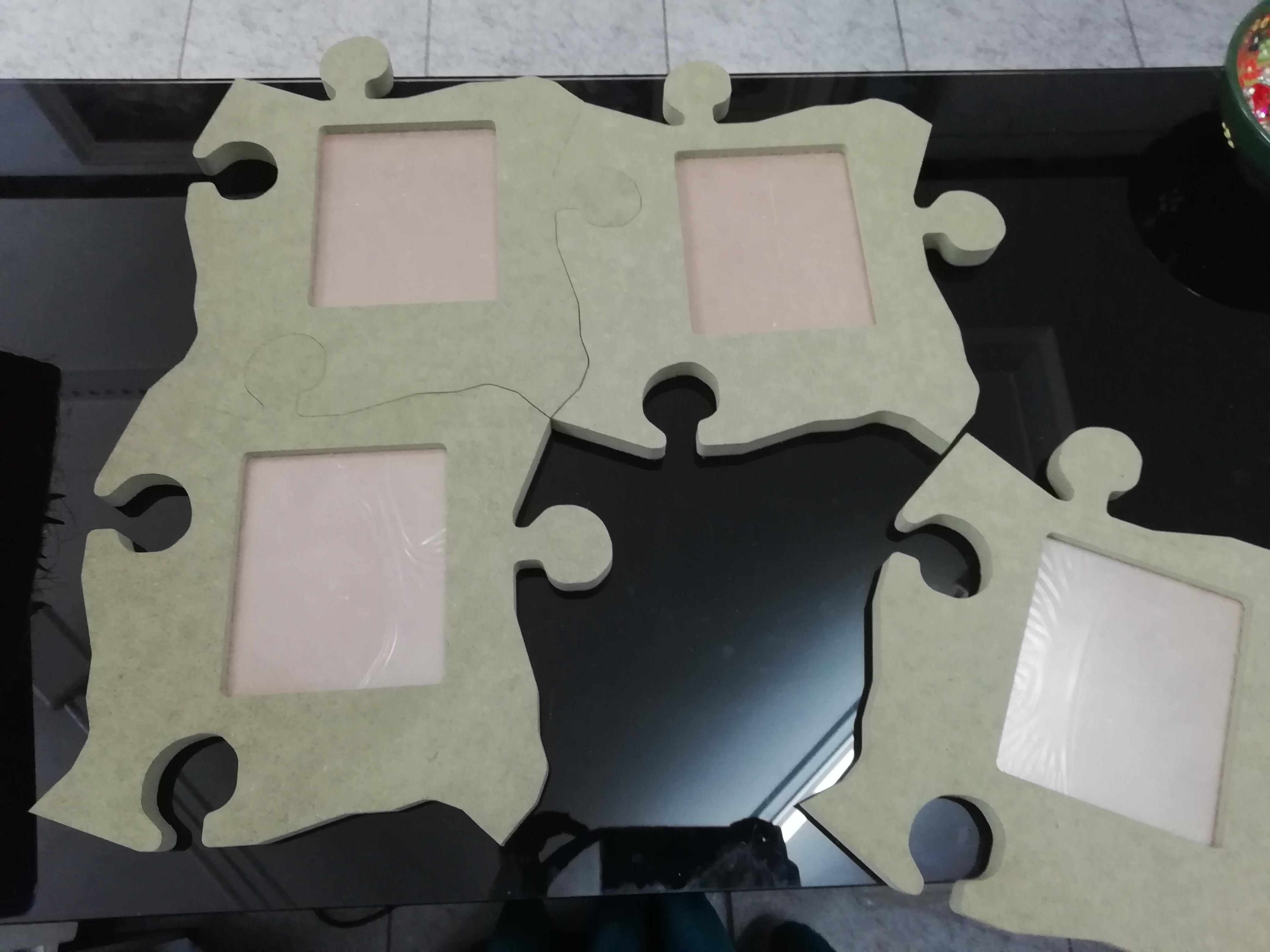 Marco peza puzzle foto 10x12