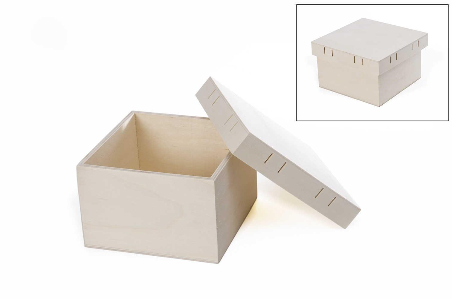 Ref.87564 med 15.5x15.5x9.5x0.5cm