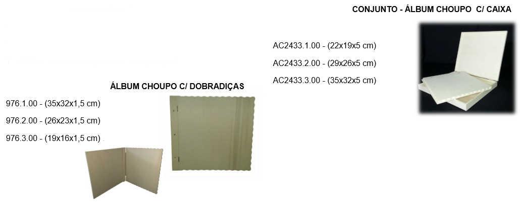 AC2433 album+caixa chopo