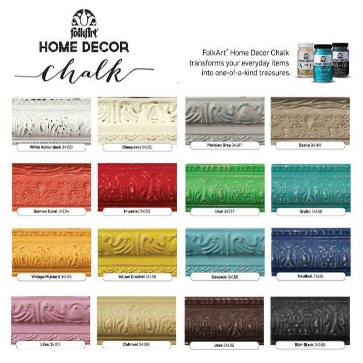 Carta cores Chalk Folk Art, 236ml