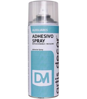 Adhesivo Spray Reposicionable (Stencyl) 400ml