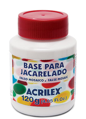 Base para Jacarelado Acrilex 120ml
