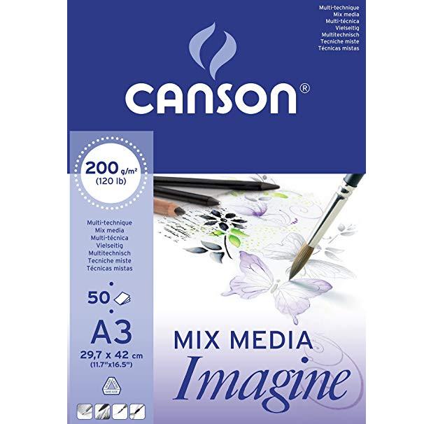 Bloc-Mix-Media-Canson-A3-ou-A4