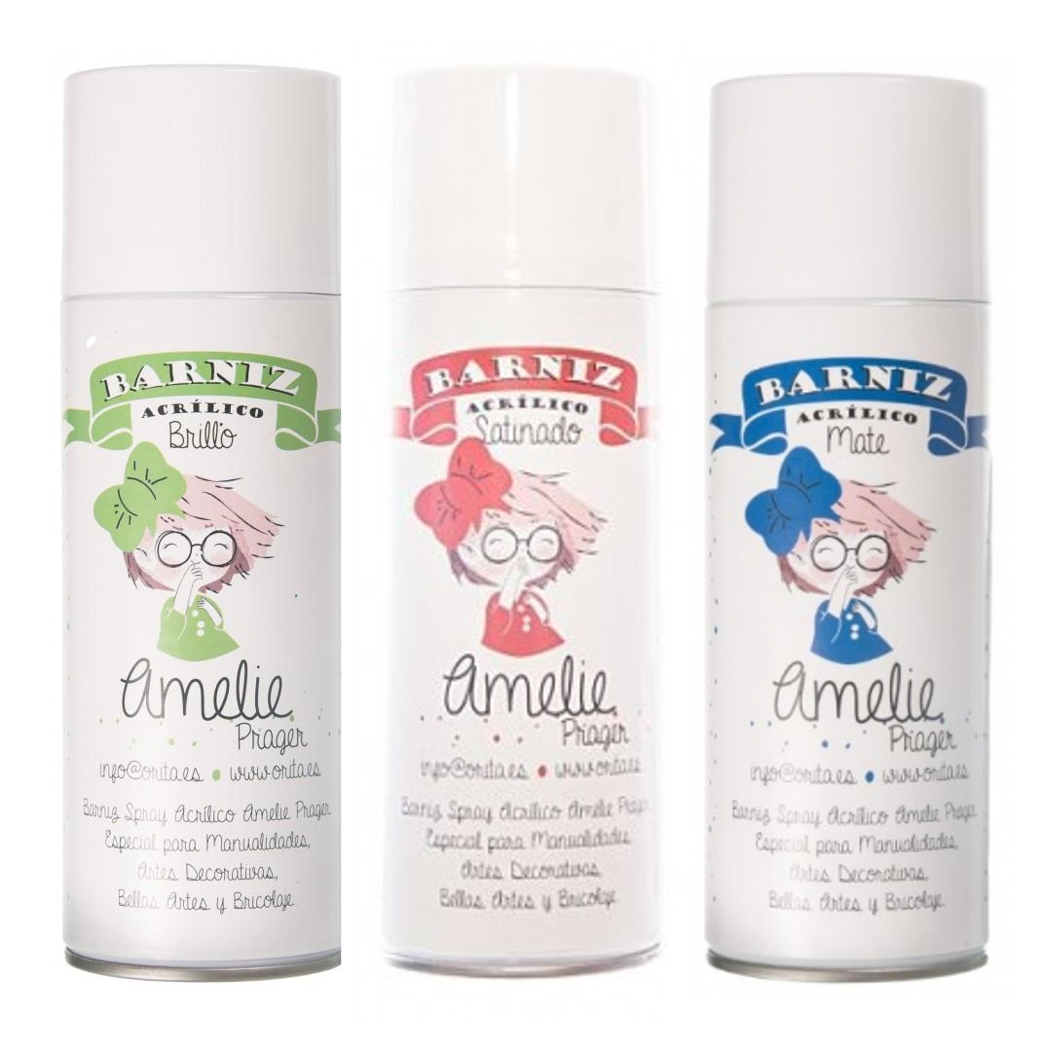 Verniz-Spray-Amelie Brillo-Mate-Satinado 400ml