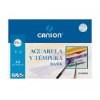 Block-Canson-acuarela-dibujo-esbozo