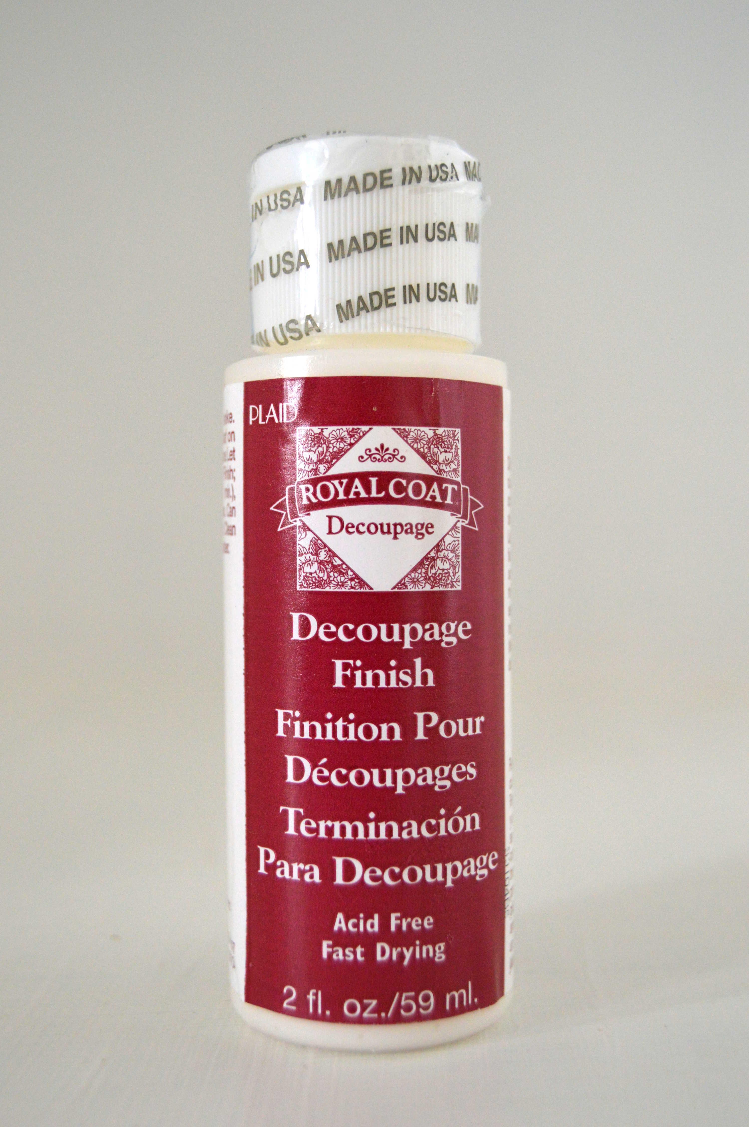 Royal Coat-cola decoupage-59ml/236ml